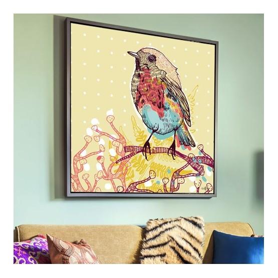 Tableau Oiseau des bois
