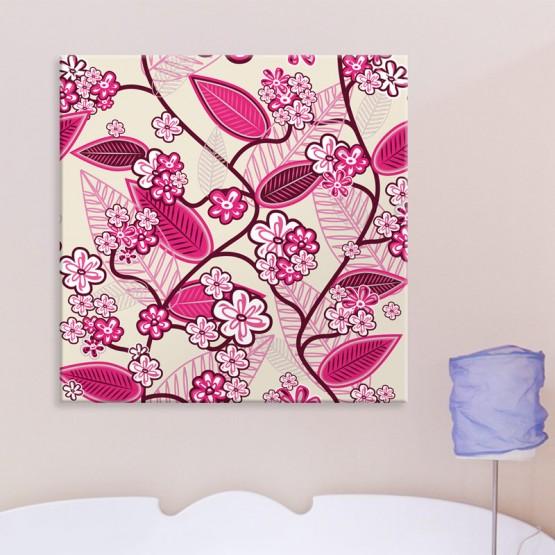Tableau Pink Flowers
