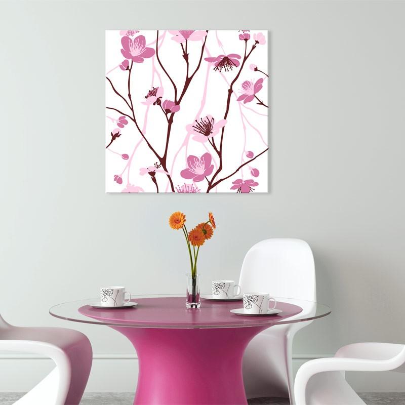 Tableau Design Fleurs De Cerisier