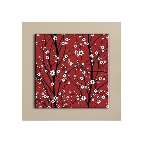 Tableau Branches en Fleurs