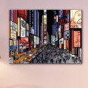 Tableau New York Nocturne Time Square