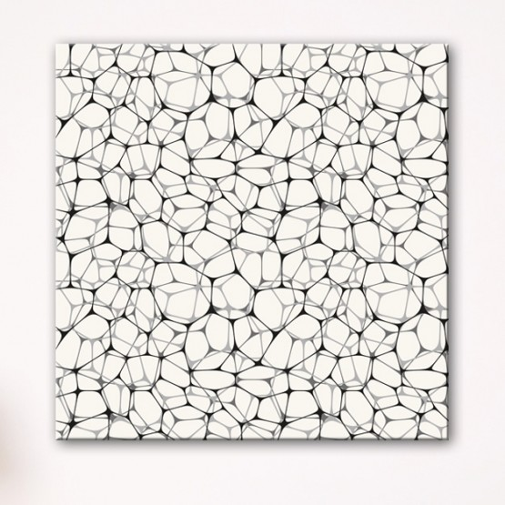 Tableau Abstrait Structure Moderne