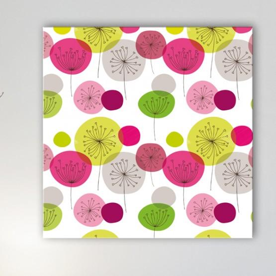 Tableau Moderne Fleurs Design