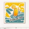 Tableau Welcome Tropical Bar