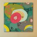 Tableau Design Fleurs Exotiques