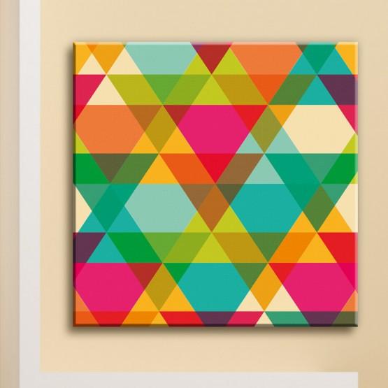 Tableau Triangles Kaléidoscopiques