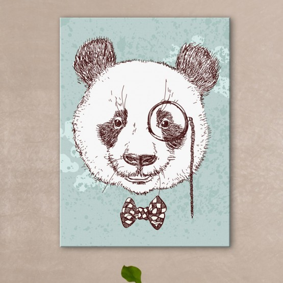 Tableau Dandy Panda