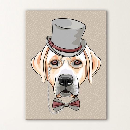 Tableau Dandy Labrador