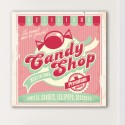 Tableau Vintage Candy Shop