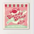 Tableau Vintage Candy Shop