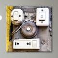 Tableau Sonnettes Ancienne Design Industriel