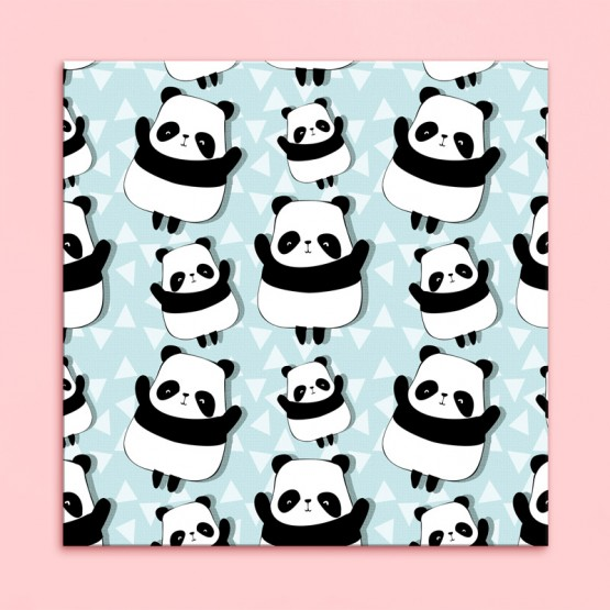 Tableau Motif Panda