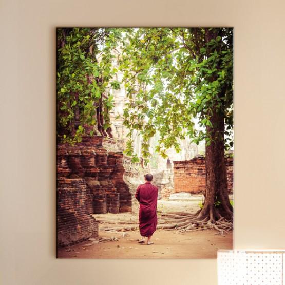 Tableau Promenade au Wat Mahathat