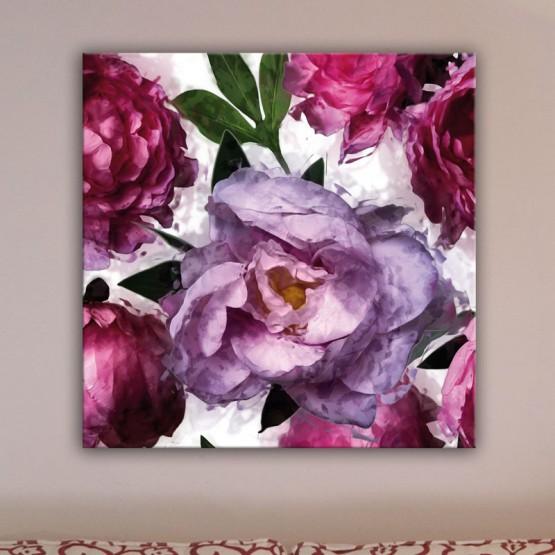 Tableau Pivoine Rose