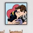 Tableau Amour Pop Art