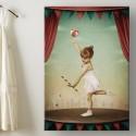 Tableau Petite fille qui jongle