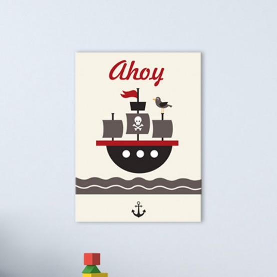 Tableau Bateau Pirate
