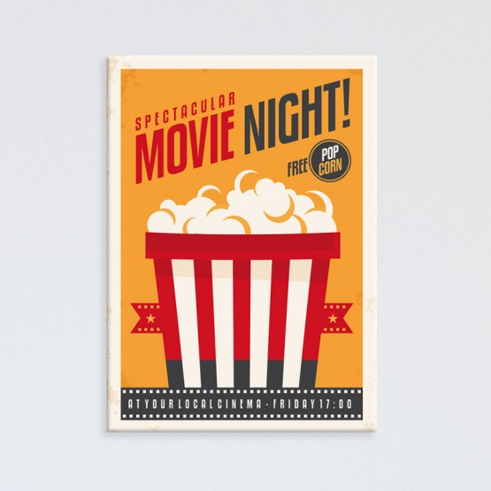 Tableau Pop Corn Movie Night