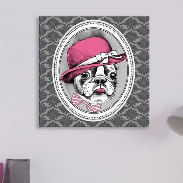 Tableau Portrait Bulldog