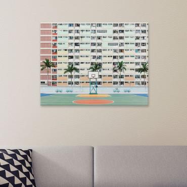 Tableau Design Hong Kong Paysage Urbain