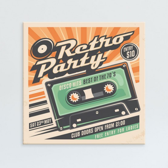 Tableau Retro Party