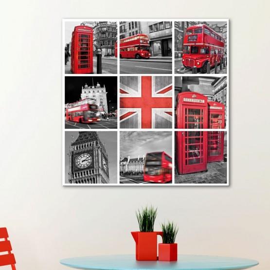 Tableau Londres en Cubes